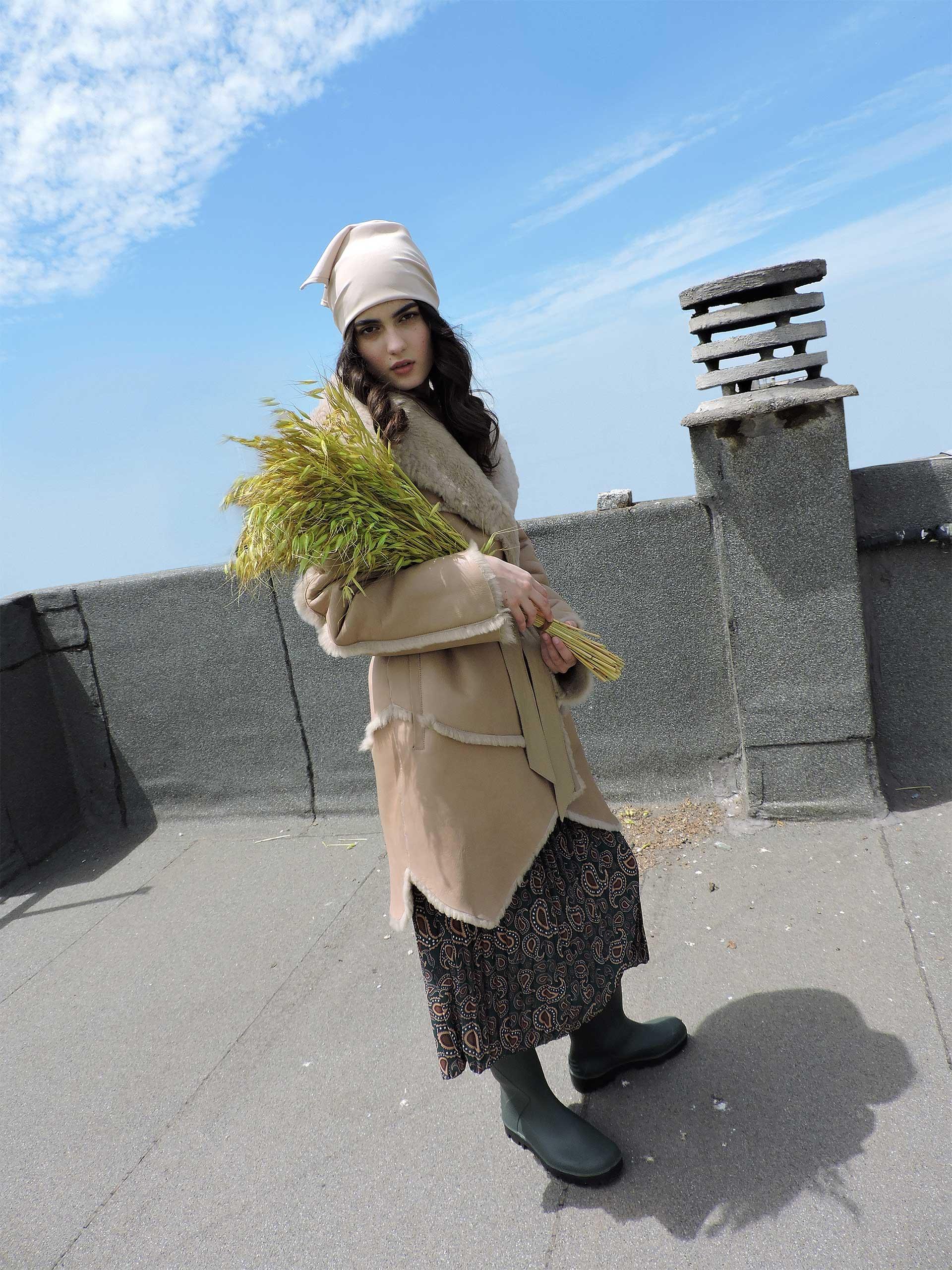 21142-90cm Lacon Cashmere Bamboo